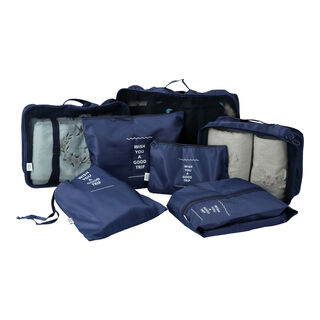 Travel Vision 7 Pieces Organizers Set Navy