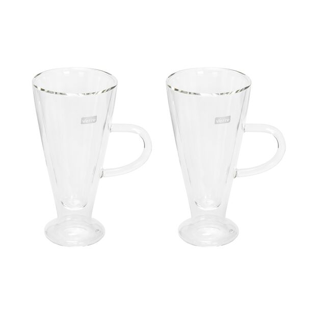 Mug Set 2 Pieces Double Wall Plain 230Ml image number 0