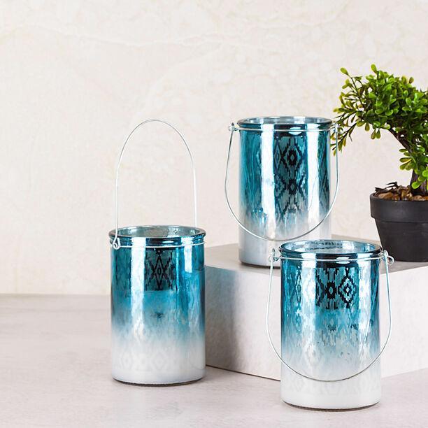 """Candle Holder """"Casablanca"""" Blue image number 2"""