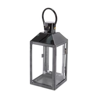 Steel Lantern Black Small