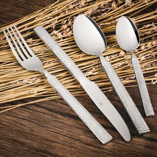 Heide 16 Pcs Cutlery Set Silver Color