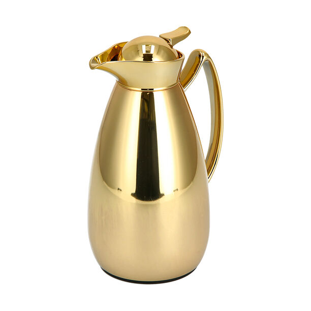 Steel Vacuum Flask 1Pc Mic Gold image number 1