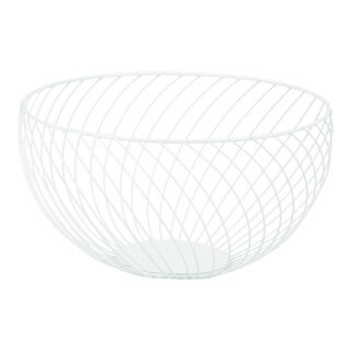 Alberto White Coated Fruit Basket