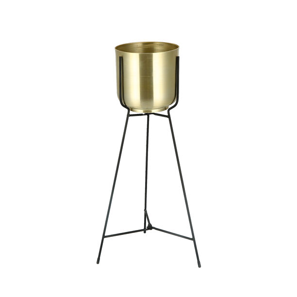 Metal Planter With Stand image number 0