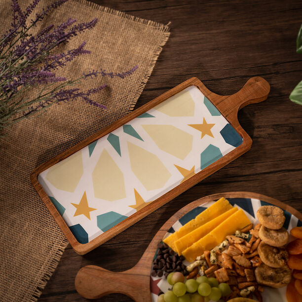 Arabesque Rectangle Serving Tray image number 4