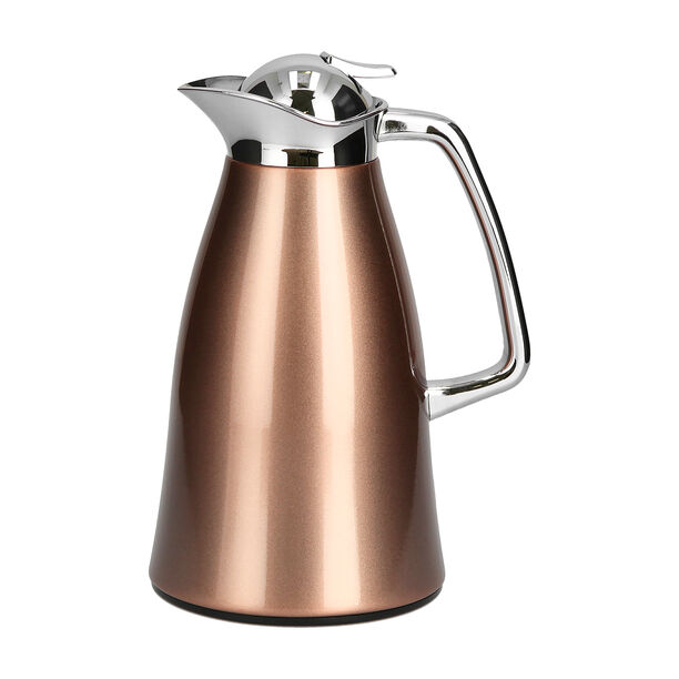 Vacuum Flask Chrome And Rose Gold 1L image number 0