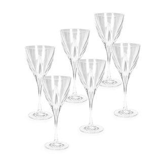 Rcr Fusion Water Stem Glass 6 Pcs Set
