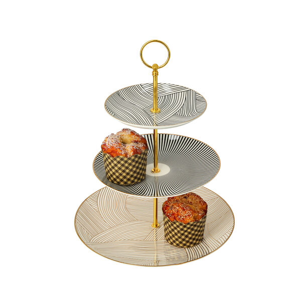 3 TIERS SERVING STAND image number 2