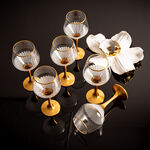 Liviano Sunflower Gold 6 Pieces Set Goblet image number 2