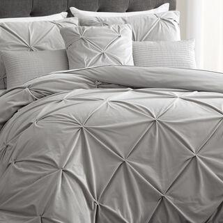 Cottage 6 Pieces Jacquard Comforter King Size Vizon