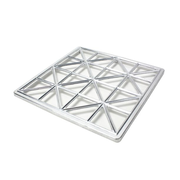 Square Aluminum Pastery Mold image number 0