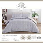 6 Pcs Comforter King Size Set Ivy image number 2