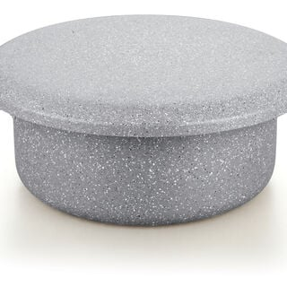 Marble Coating Casserole With Serving Lid Grey