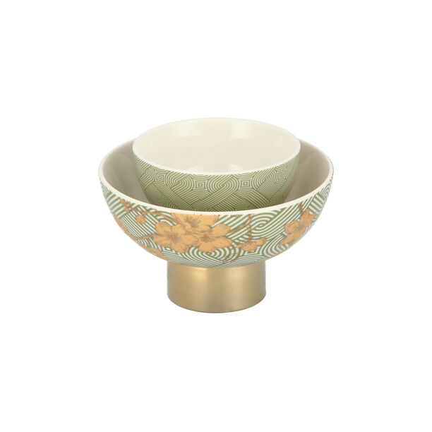 Date Bowl 2Pc Porcelain Harmony image number 3