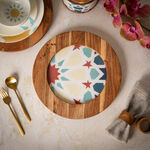 Arabesque Round Charger Plate image number 0
