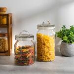 Alberto Glass Storage Jar With Glass Lid image number 3
