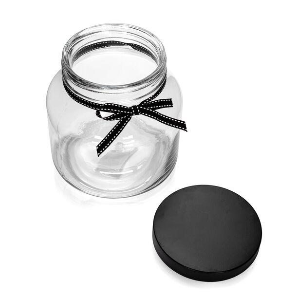 برطمان تخزين زجاجي بغطاء معدني سعة 1650 مل من البرتو image number 2