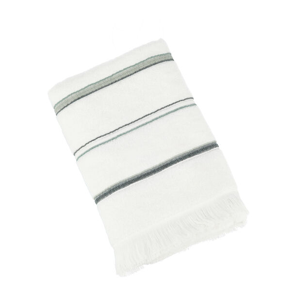 Bath Towel Stripe White image number 0