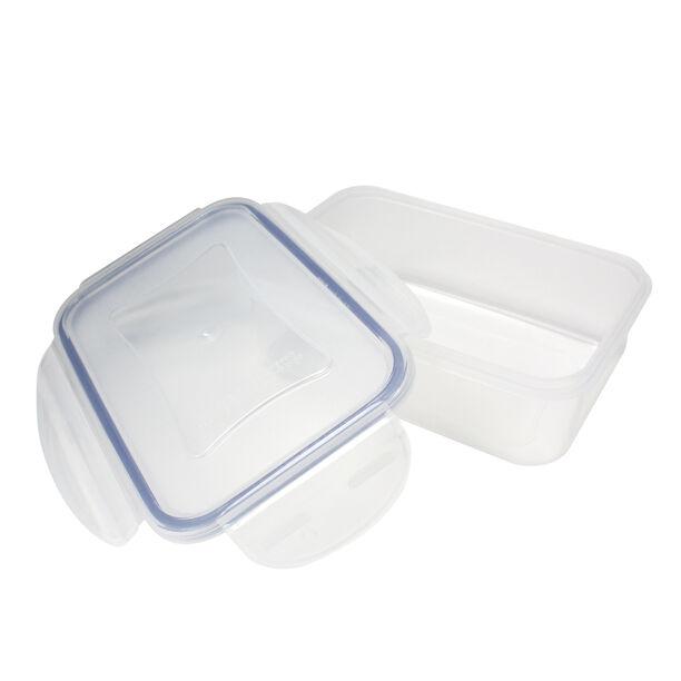 حافظة طعام بلاستيك مستطيل سعة 0.5 لتر من البرتو  image number 1