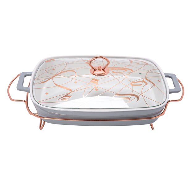 "Rectangle Food Warmer Sunbuli 17"" image number 0"