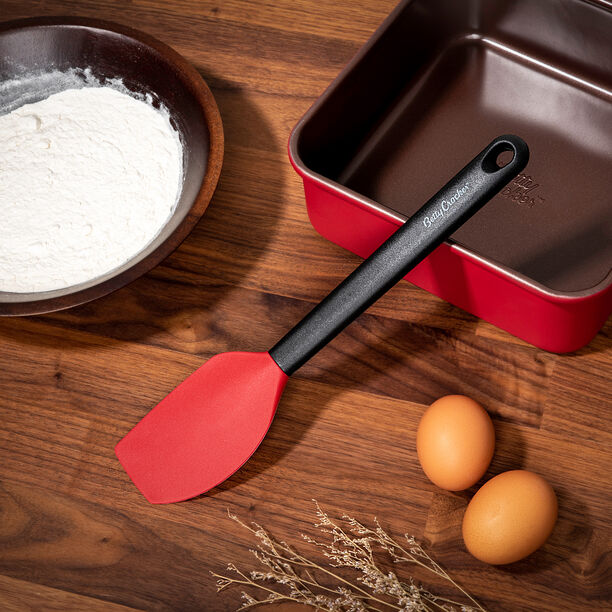 Betty Crocker Silicone Spatula With Grip Handle image number 3