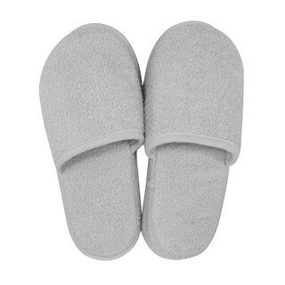 Bath Slippers Light Grey