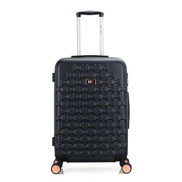 Travel Vision Set Of 4 Butterfly+Vanity Bag Black  image number 1