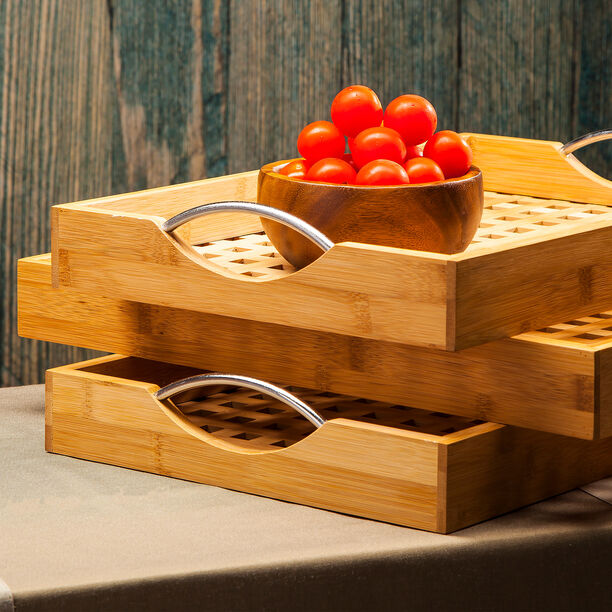 Bamboo Serving Tray  image number 2