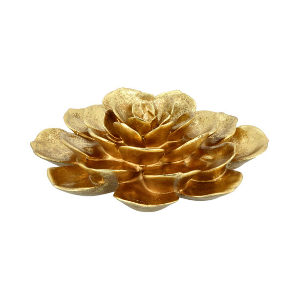 Wall Decoration Flower Gold image number 1
