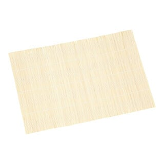 Alberto Bamboo Placemat White Color