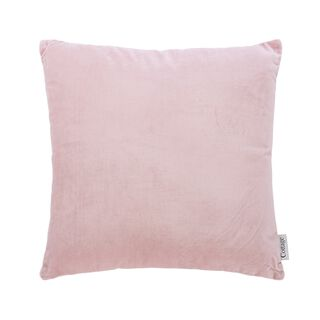 Cottage Solid Cushion Palin Pink 45X45 Cm