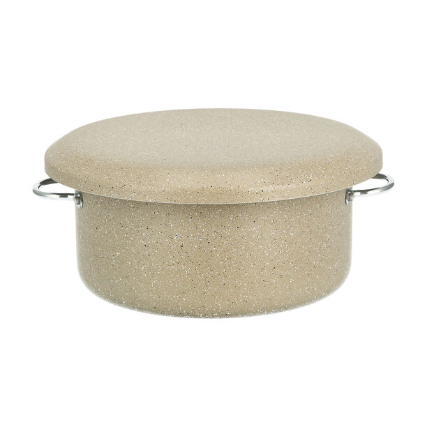 Marble Coating Casserole With Serving Lid image number 0