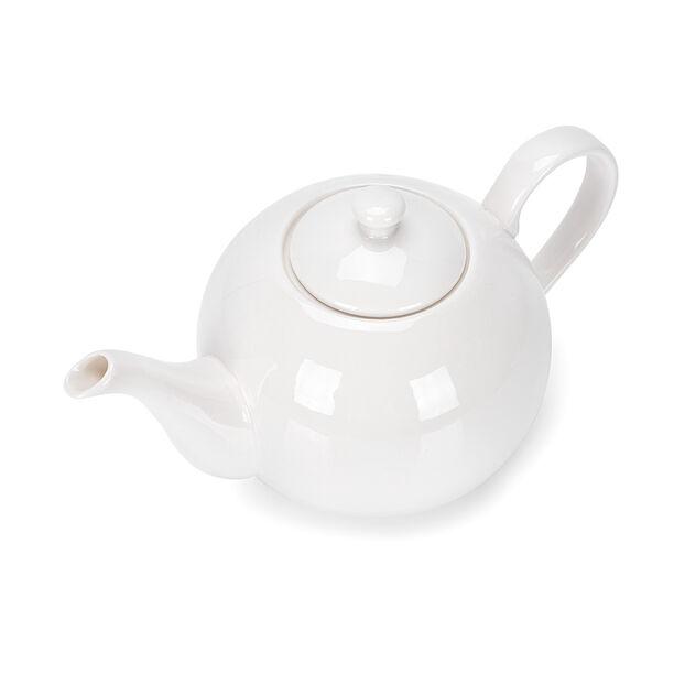 English Tea Pot White image number 1