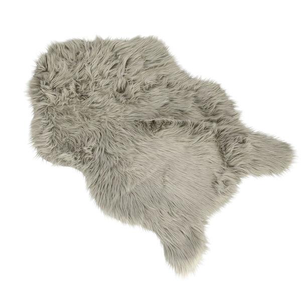 Faux Fur Lt. Grey image number 0