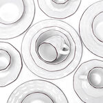 16 Pcs Dinner Set Serve 4 Origamy image number 2