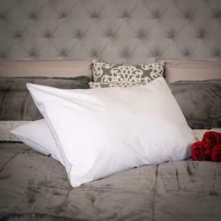 Silver Rope Pillow
