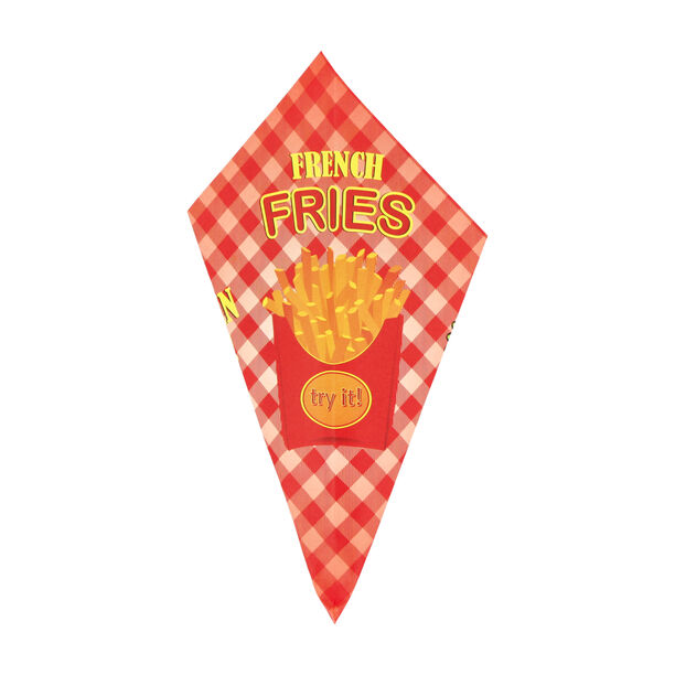 20 Pieces Paper Fries Bag image number 0