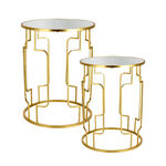 Nested Table Set Of 2 Gold image number 3