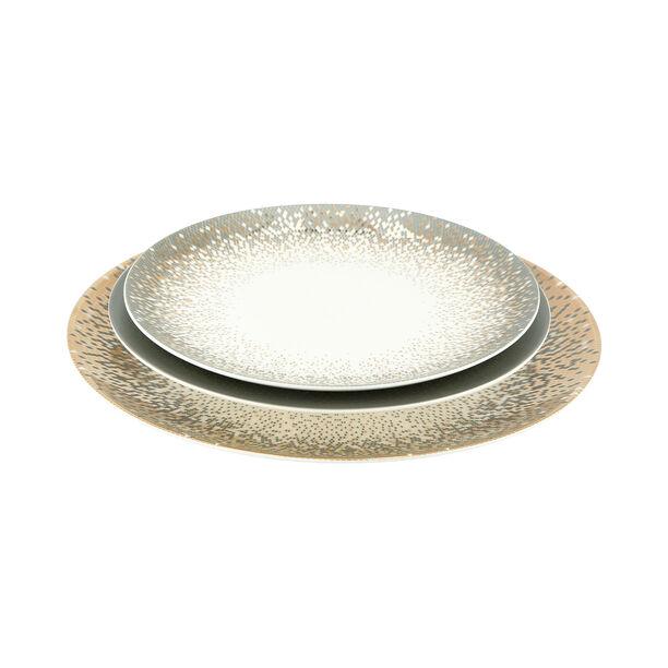18 Pcs Fine Bone Porcelain Dinner Set Serve 6 Persons image number 3