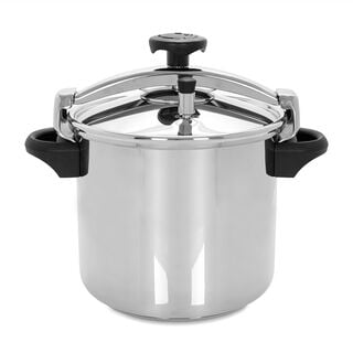 Silampos Stainless Steel Pressure Cooker W/ Alum Basket V:10 L