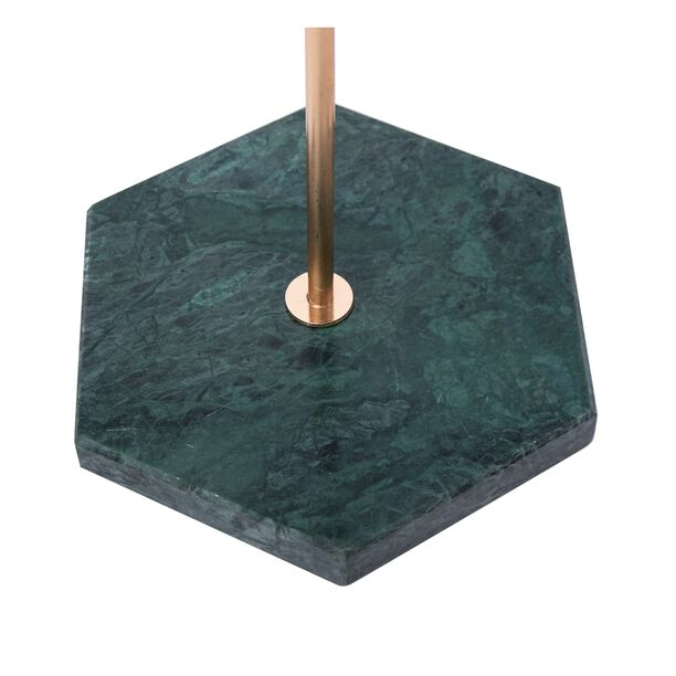 Jewelry Rack With Marble Base Gold/Green image number 2