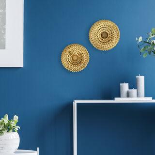 Wall Art Flower Gold