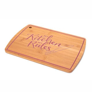 Alberto Bamboo Cutting Board Pink Color