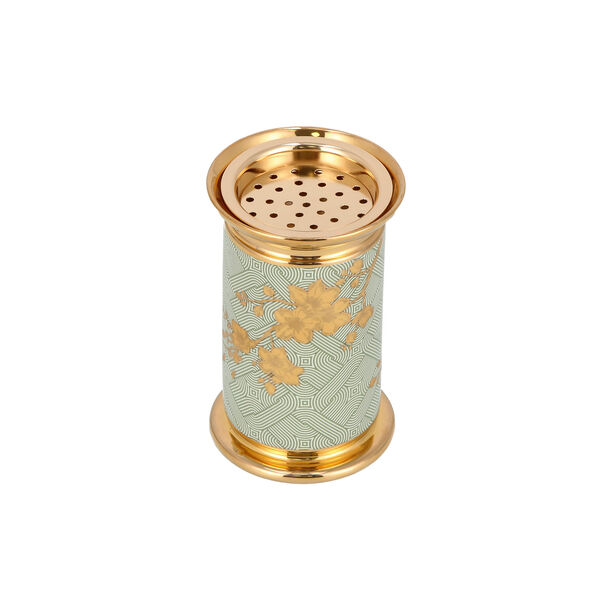 Oud Burner Harmony Gold Flower image number 3