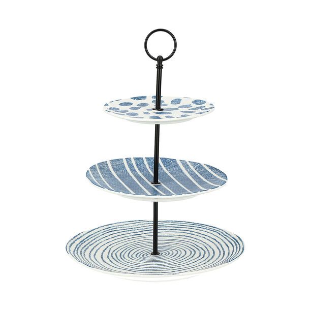 3 Tiers Cake Stand Navy Carnival image number 0