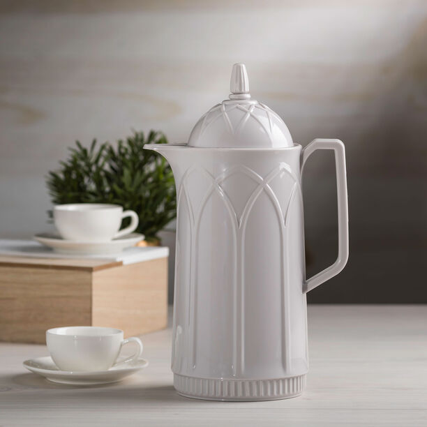 Dallety Plastic Vacuum Flask Grey image number 2