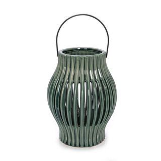Ceramic Candle Holder Blue