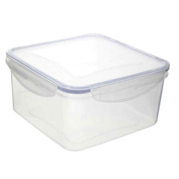 Alberto Plastic Food Saver Square Shape V:2.0L Blue Lid image number 1