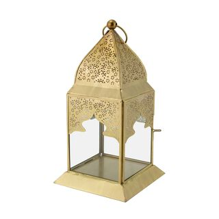 فانوس مغربي من المعدن والزجاج