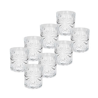 Rcr Set Bicchieri Oasis ( 6+2)  8 Pieces Set